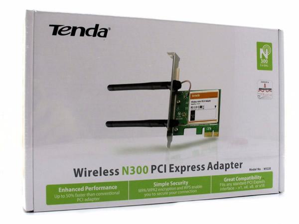 Adaptador De Red Wifi Tenda W322E Inalambrico N300 Pci Expre